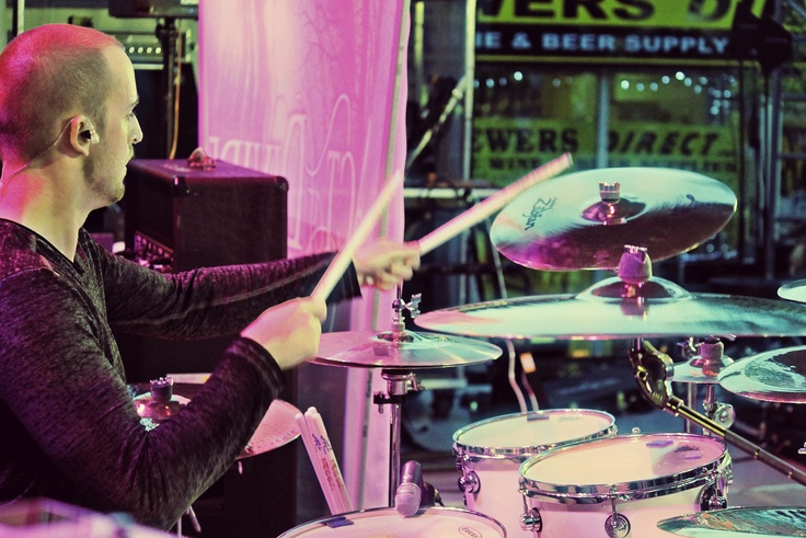 Kyle Worrall; drummer for Act of Divide