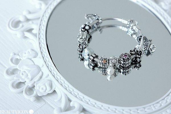 Biżuteria Pandora - inspiracje na lustrze