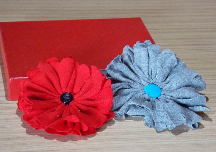 Cara membuat bunga dari baju bekas