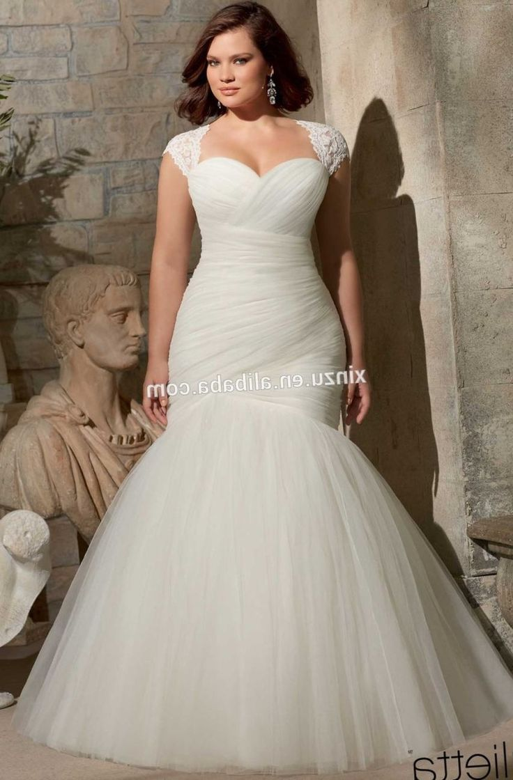 100+ Wedding Dress for Larger Ladies - Country Dresses for Weddings Check more at http://www.dust-war.com/wedding-dress-for-larger-ladies/