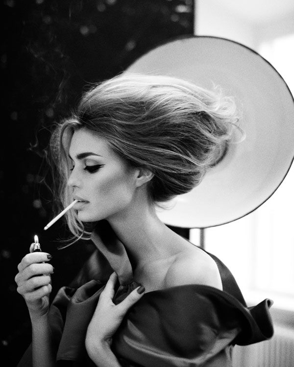 LE SMOKING VINTAGE IMAGE By Signe Vilstrup Puchase on the Website