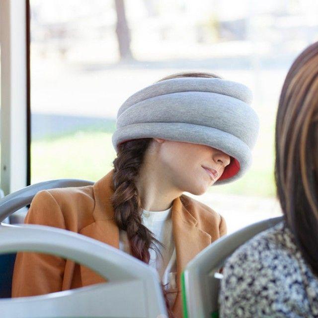 Ostrich #Seyahat Yastığı, Avrupa'da çok popüler, çünkü bu yastıkla #uyku garanti... Sadece uzun yolda değil, toplu taşımada da kullanacaksınız