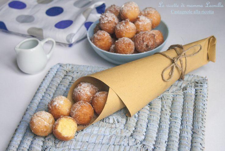 CASTAGNOLE ALLA RICOTTA -ricetta dolce di carnevale