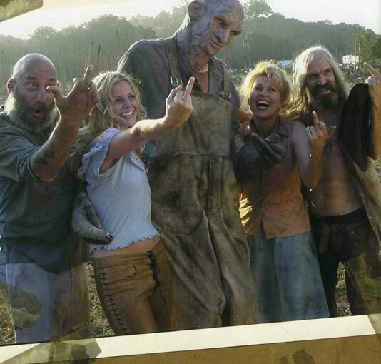 MOST VILE VILLAIN-Leslie Easterbrook, Sid Haig, Bill Moseley and Sheri Moon Zombie as the Firefly Family in The Devil's Rejects