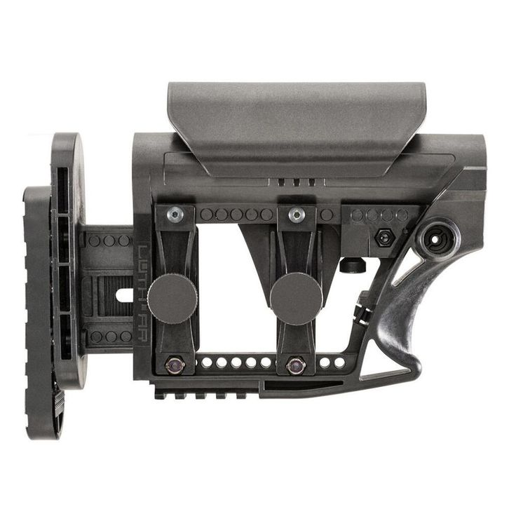 LUTH-AR AR-15 Carbine Stock MBA-3 Black - 862388000122