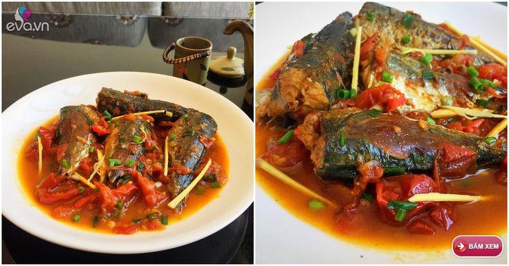Cá nục kho cà chua là một món ăn dân dã của người dân vùng biển. Những miếng cá kho béo ngậy đậm đà, thơm mùi gừng, vị cay nhẹ ăn nóng cùng cơm trắng rất ngon.