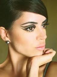 Afbeeldingsresultaat voor make up jaren 60