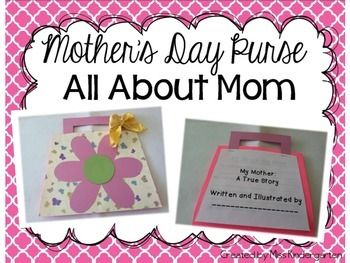 Mother's Day Purse: All About Mom | by Miss Kindergarten Love | $3.00