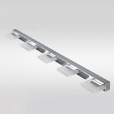 Luz LED de pared, 5 Luz, Moderno, Metal, Arcylic galvanoplastia – CLP $ 108.529