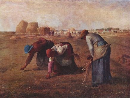 Storia della pittura attraverso i francobolliJ.F.Millet