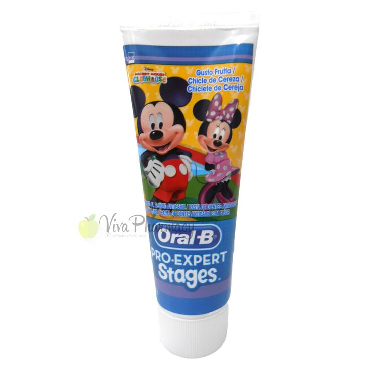 ORAL B ΟΔΟΝΤΟΚΡΕΜΑ STAGES DISNEY 75ml - Vivapharmacy.gr - Online Φαρμακείο - Βρείτε καλλυντικά, βρεφικά προϊόντα, συμπληρώματα διατροφής