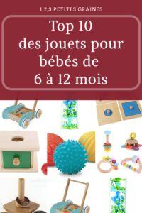 Jouets Montessori pour bébés de 6 à 12 mois   – Montessori – développement