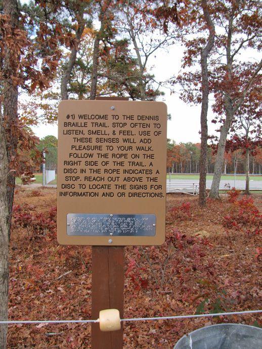 Dennis Braille Trail