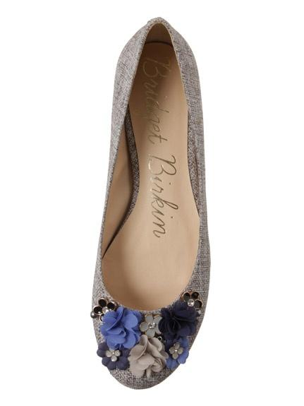 flores azuis: Shoes, Sandals