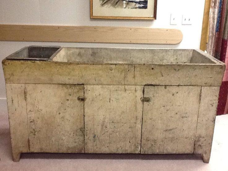 Antique Primitive Wood Dry Sink  NaivePrimitive. 299 best Worn Wonderful White Wood images on Pinterest   White