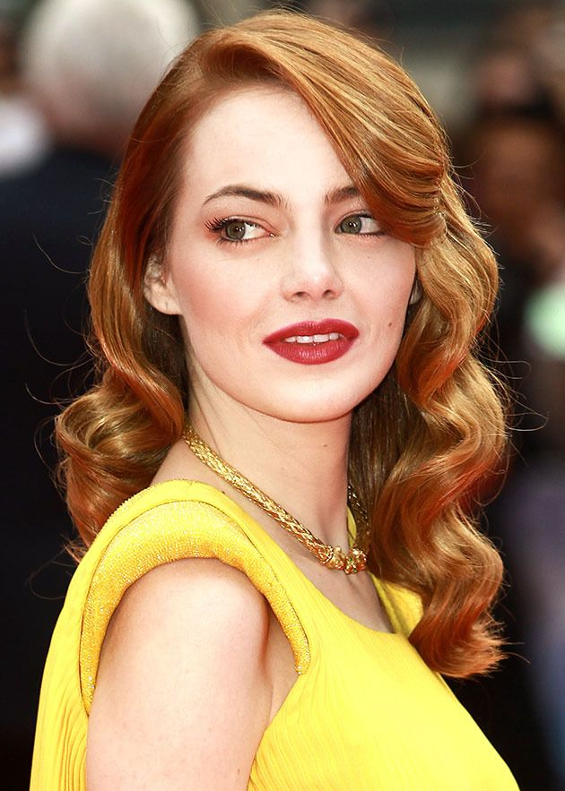 Here's how to get the sculpted wave, as seen on Emma Stone.