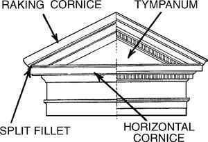 Pediment definition of Pediment in the Free Online Encyclopedia