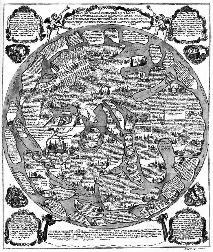 Russia Cosmography early 18th century lubok.jpg