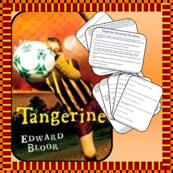 100 content questions for the novel Tangerine, by Edward Bloor