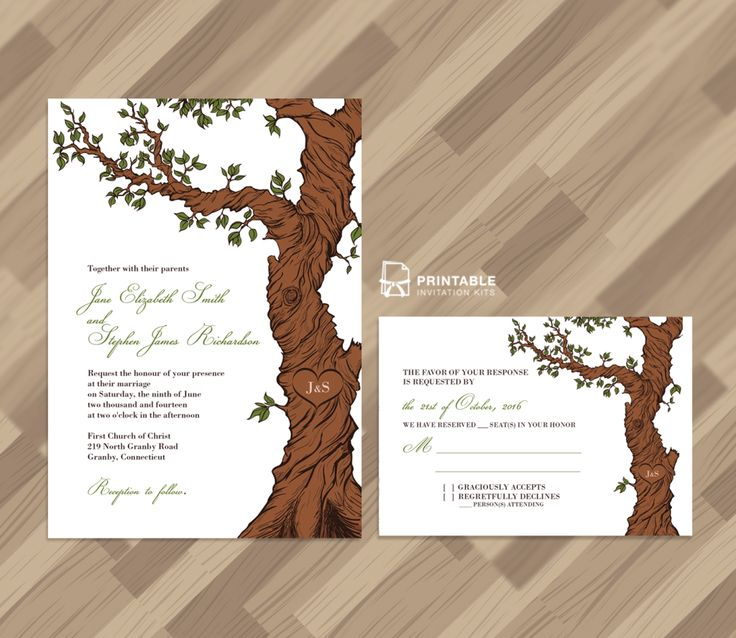 The 220 best Wedding Invitation Templates free to print images on