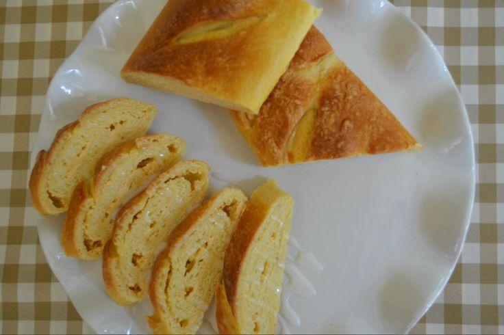 Apricot Cream Cheese Bread