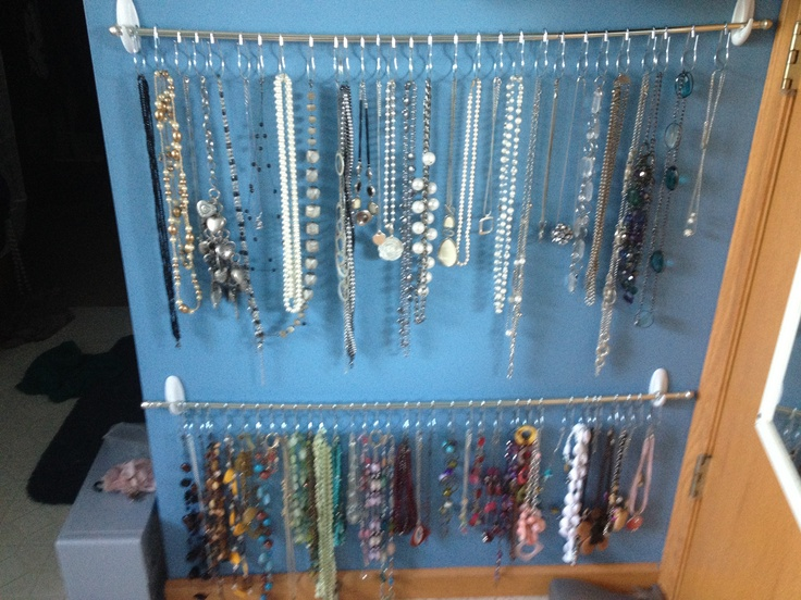Necklace Organization Made Each Rack For 9 00 2 Command