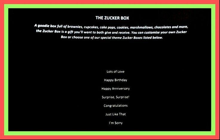 The ZA Goodie Boxes