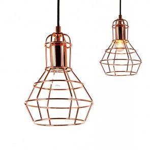 [lux.pro] Lampada a sospensione / Vintage / Design retrò - Lampada sospesa - (attacco E27) 29,80 €