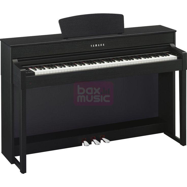 Met de Yamaha CLP-535B Black Walnut is het net alsof u op een akoestische piano speelt. Daarvoor zorgen de pianosamples van de Yamaha CFX en Bösendorfer Imperial, het Graded Hammer 3X-klavier en de stevige luidsprekers.