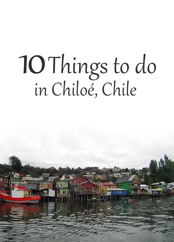 Want to visit Chiloé? This is the list of places you absolutely can't miss!  Chiloe   Chile   Castro   palafitos