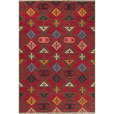 JaipurLiving Anatolia Red/Multi Area Rug Rug Size: 5' x 8'