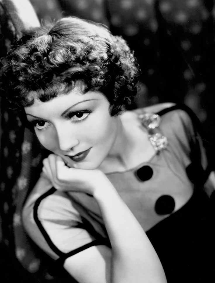 Claudette Colbert by Eugene Robert Richee, 1935