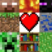 Minecraft Fabric for Sale | minecraft fabric by indie designers