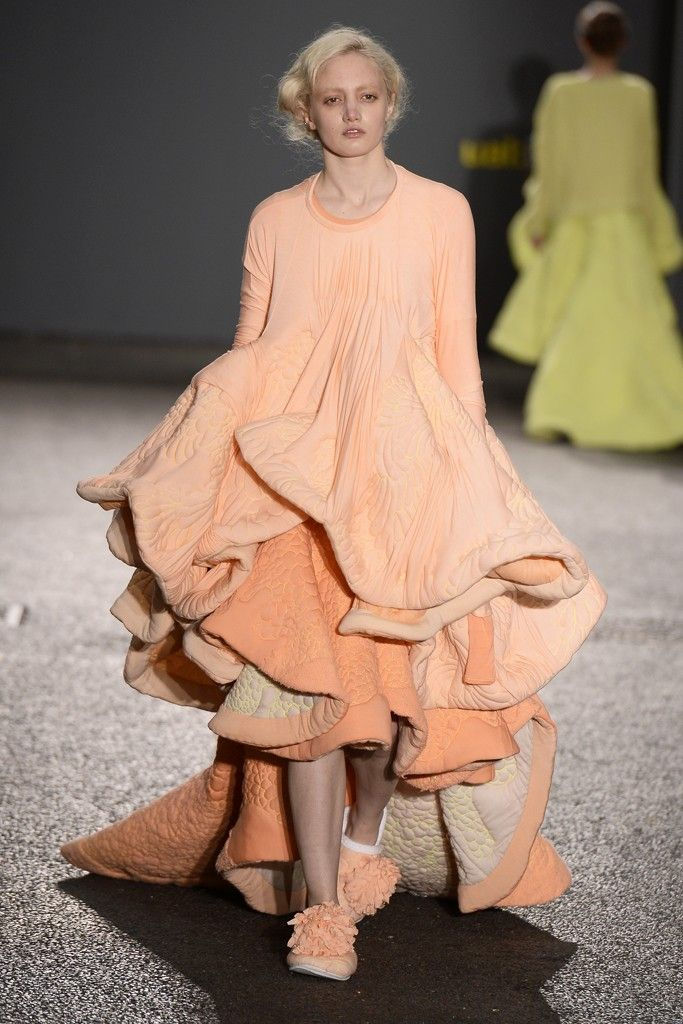 Central Saint Martins Hosts Annual BA Fashion Show - Slideshow -- Daisy Collingridge