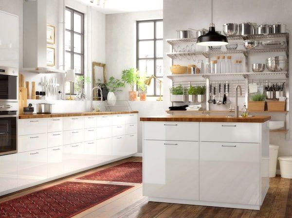 Weisse Kuche Ideen In Hochglanz Entdecken Ikea Kuche Weisse Kuche Stilvolle Kuche