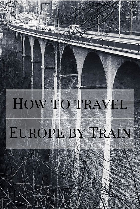 Traveling Europe by Train is an amazing experience. By far the best way to see all of Europe.