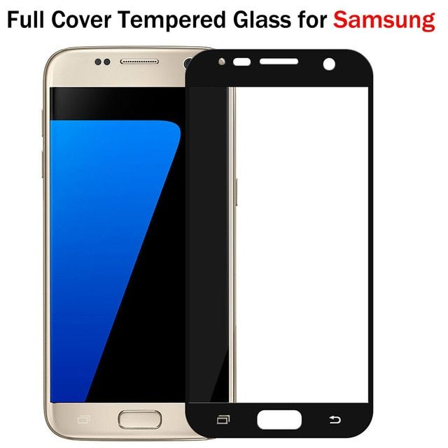 Full Cover Colorful Screen Protector Tempered Glass Film For