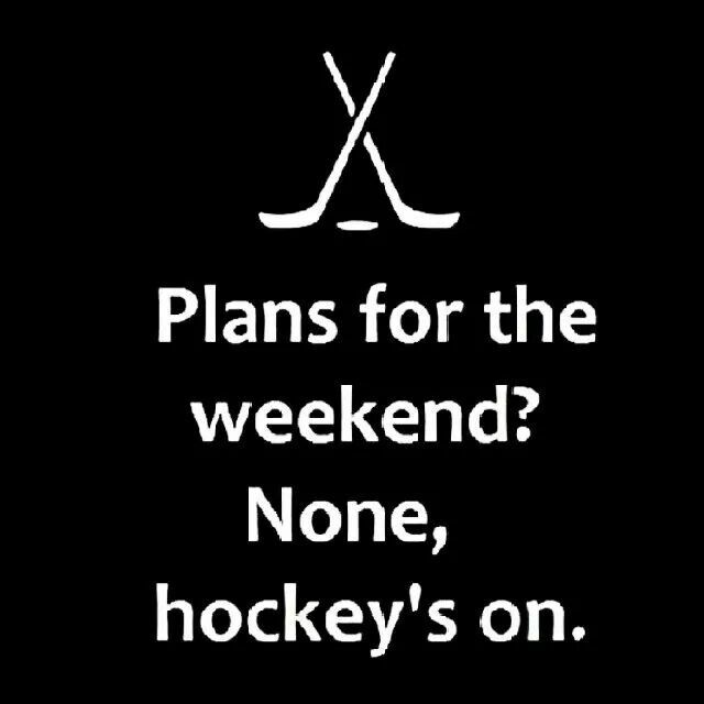So true.  Hockey games, practices, Saturday night NHL hockey, and just because it's not busy enough both boys have bday parties to go to lol. I'll play taxi this weekend.