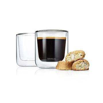 termo sklenice na kávu / čaj sada dvou kusů NERO BLOMUS