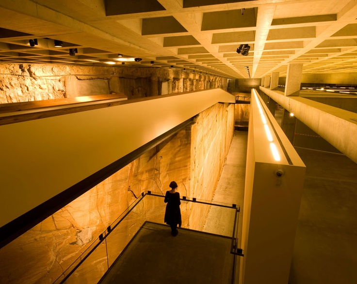 MONA (Museum of Old and New Art) interior, Hobart — Nonda Katsalidis (2010)