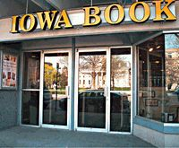 Serving Iowa Students for over eighty years, Iowa Book is your locally owned independent book store, Hawkeye apparel, and gift headquarters. With THE LARGEST AND BEST SELECTION of Iowa Hawkeye merchandise on the web, we are your landmark one-of-a-kind bookstore across the street from the Old Capitol in Iowa City.