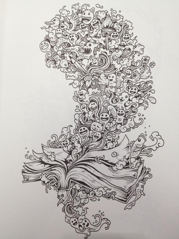 16 Best Images About Kleurplaten Doodle Invasion On Pinterest