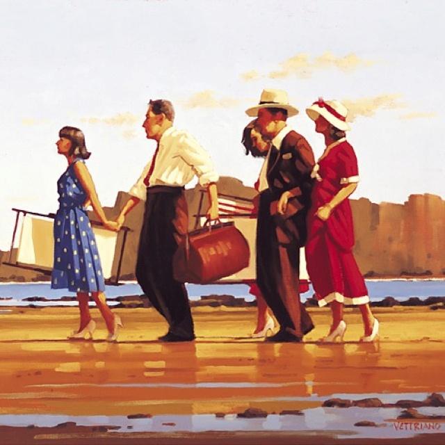 Jack Vettriano - oh happy days