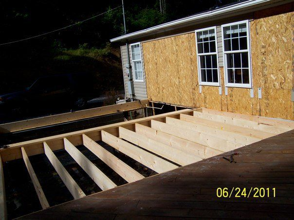 25 best ideas about mobile home addition on pinterest for Mobile home additions plans