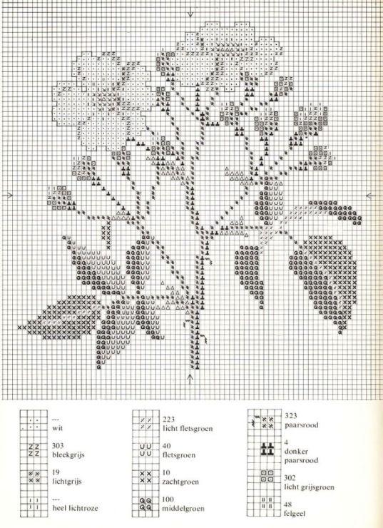 Gallery.ru / Фото #7 - Cross Stitch Pattern in Color - Mosca