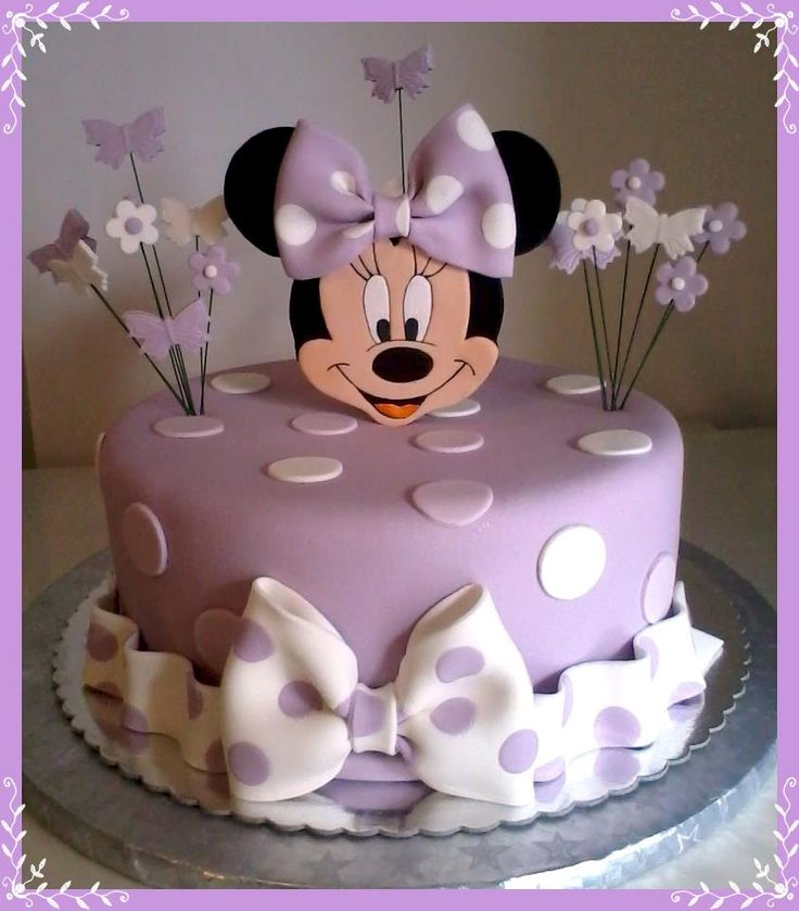 Minnie Mouse--This should be Ellie's next birthday cake.  :o)