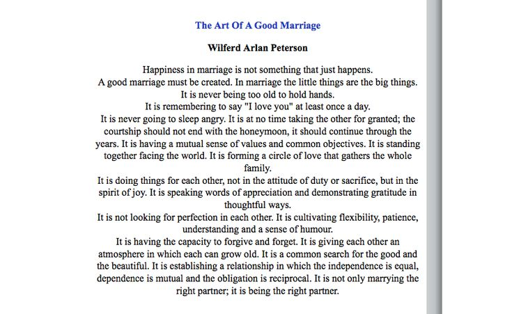Poems To Read At Wedding: This One Is Probably Popular