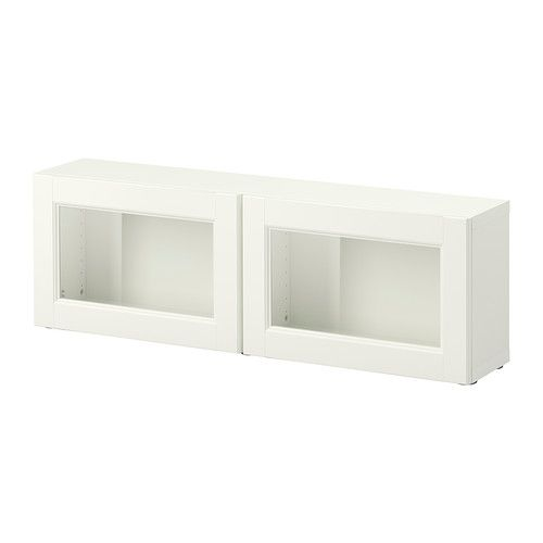 Lots Of Shapes And Sizes Wall Shelves In Besta Ikea BestÅ Shelf Unit With Gl Doors Vbo White 47 1 4x7 7 8x15 Florida Home Ideas Pinterest