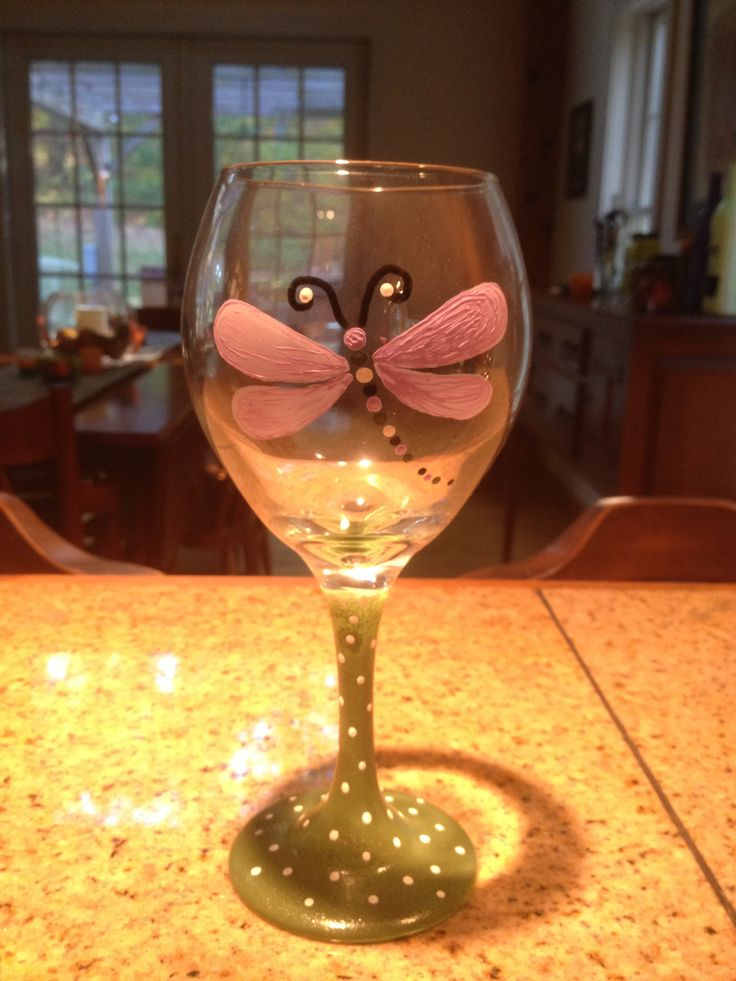 53 Best Wine Glass Ideas Images On Pinterest Painting On