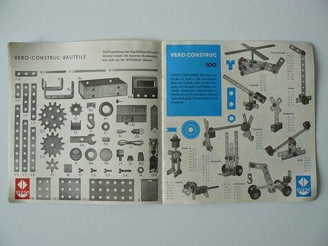 """grain edit · Vintage German """"Vero Construc"""" Booklets"""